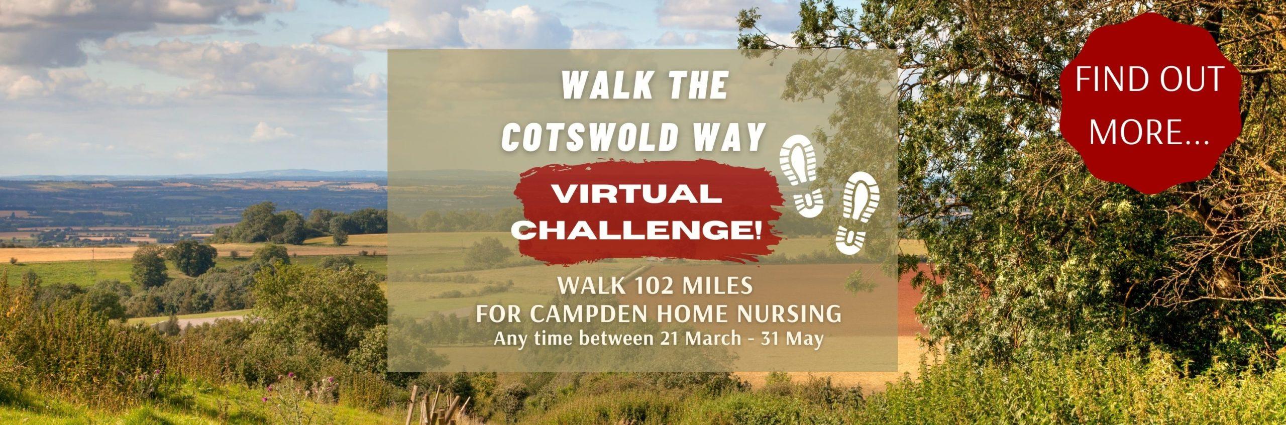 Walk The Cotswold Way (virtually)
