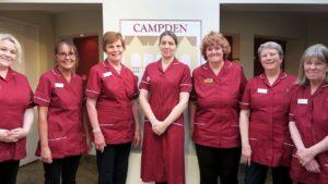 Nursing staff at Campden Home Nursing