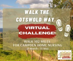 Walk The Cotswold Way (virtually) for Campden Home Nursing