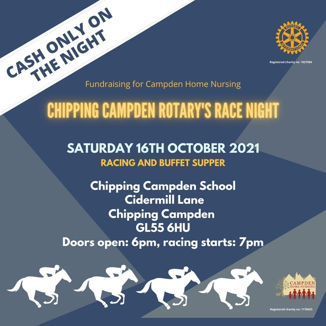 The latest news from Campden Home Nursin - Campden Rotary's Race Night
