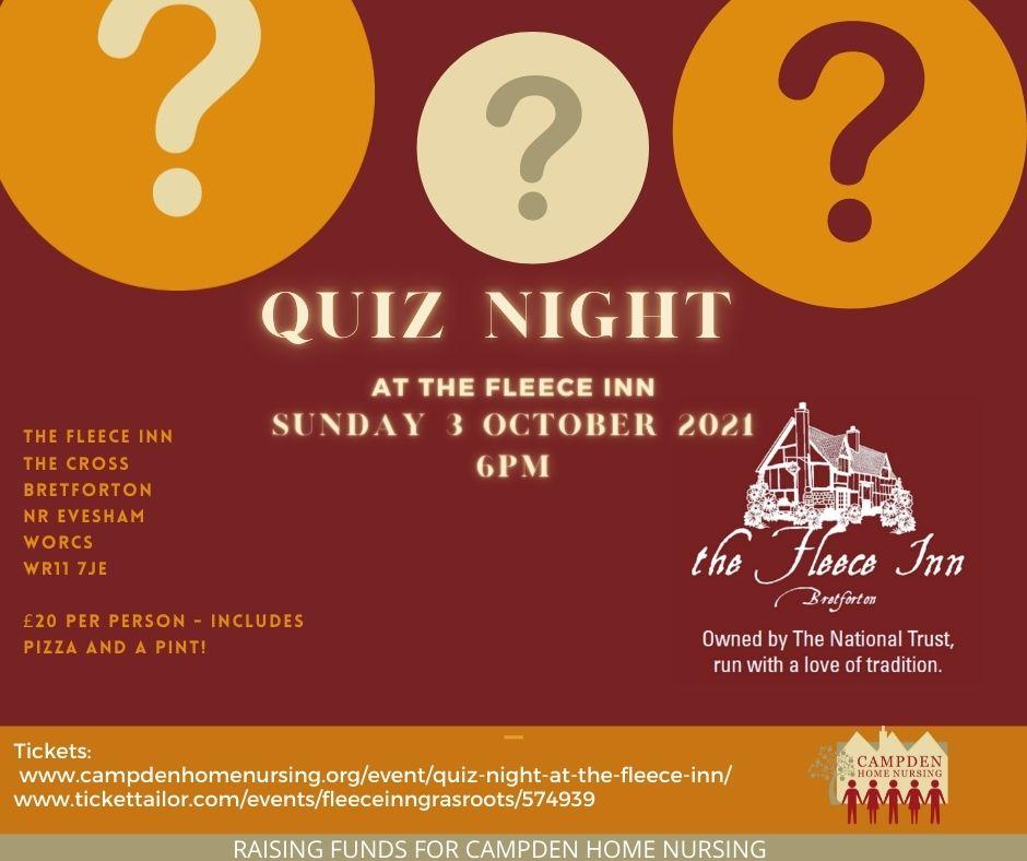 Quiz Night at the Fleece Inn
